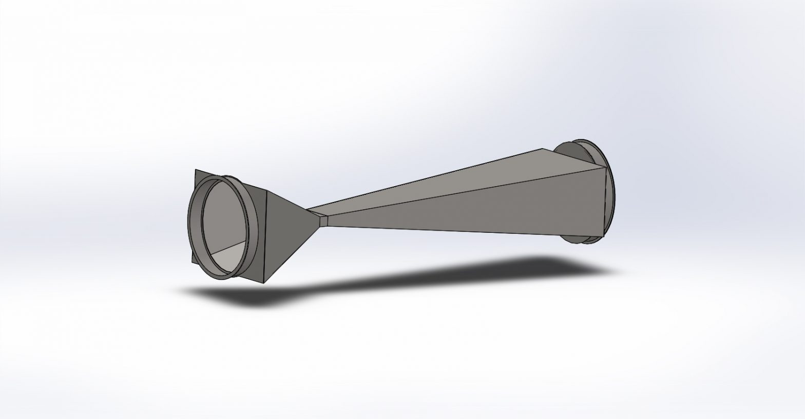 Beer cavitation reactor